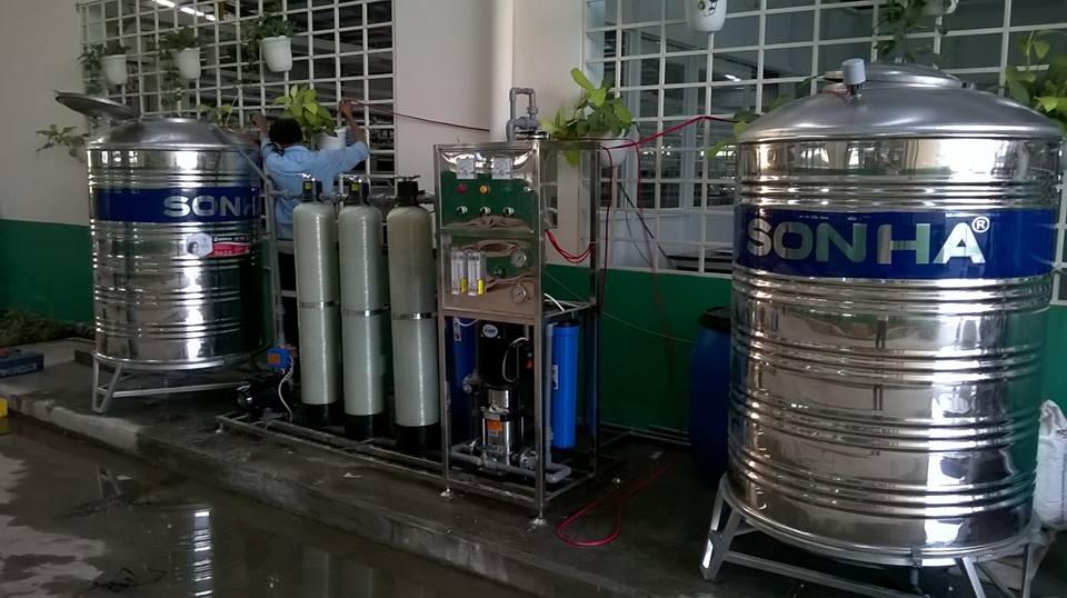 bảo trì hệ thống lọc nước tinh khiết RO naphapro