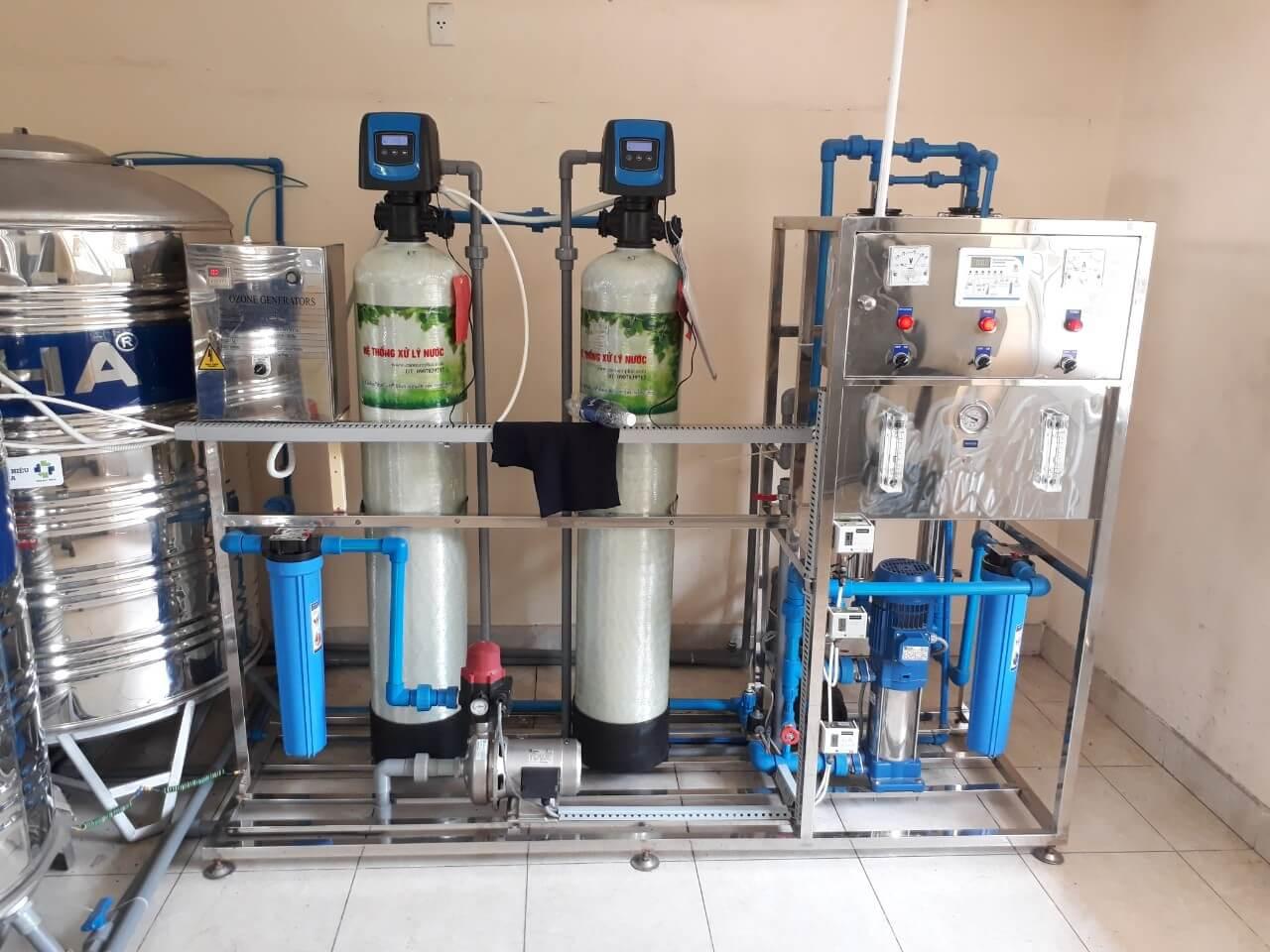 Hệ thống lọc nước uống tinh khiết RO , NaPhaPro máy lọc nước