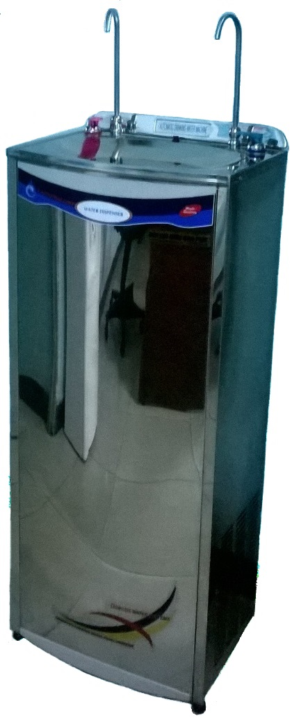 máy lọc nước 2 vòi nóng lạnh inox