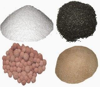 Các vật liệu thông dụng trong xử lý nước giếng khoan