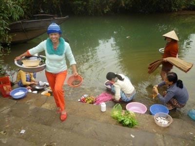 Cách xử lý nước sông thành nước sinh hoạt