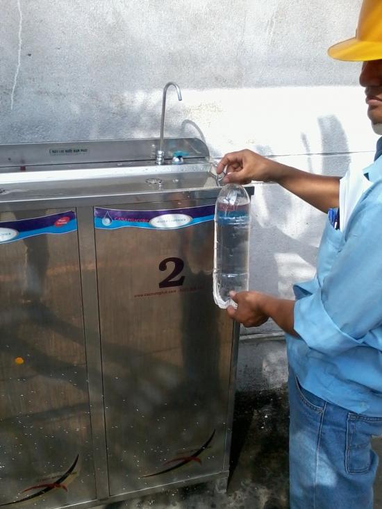 Thay lỏi lọc, vật liệu lọc nước tại đồng nai
