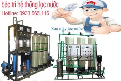 Bảo trì hệ thống sản xuất nướctinh khiết RO