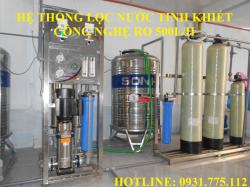 Máy lọc nước uống cho công nhân