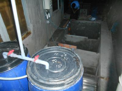 Công trình xử lý nước thải sinh hoạt nhà máy thép