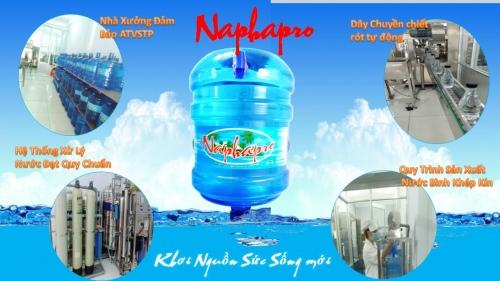 Kho nước bình 20L Naphapro