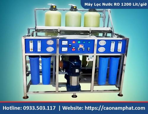 Máy lọc nước RO công nghiệp 1200L/h