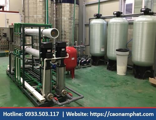 Xử lý nước sản xuất hoá chất